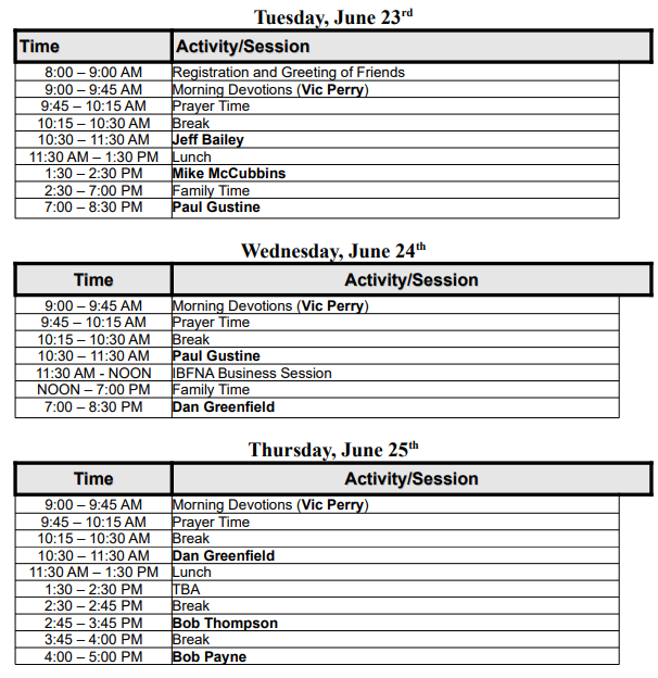 Conference Schedule-Image